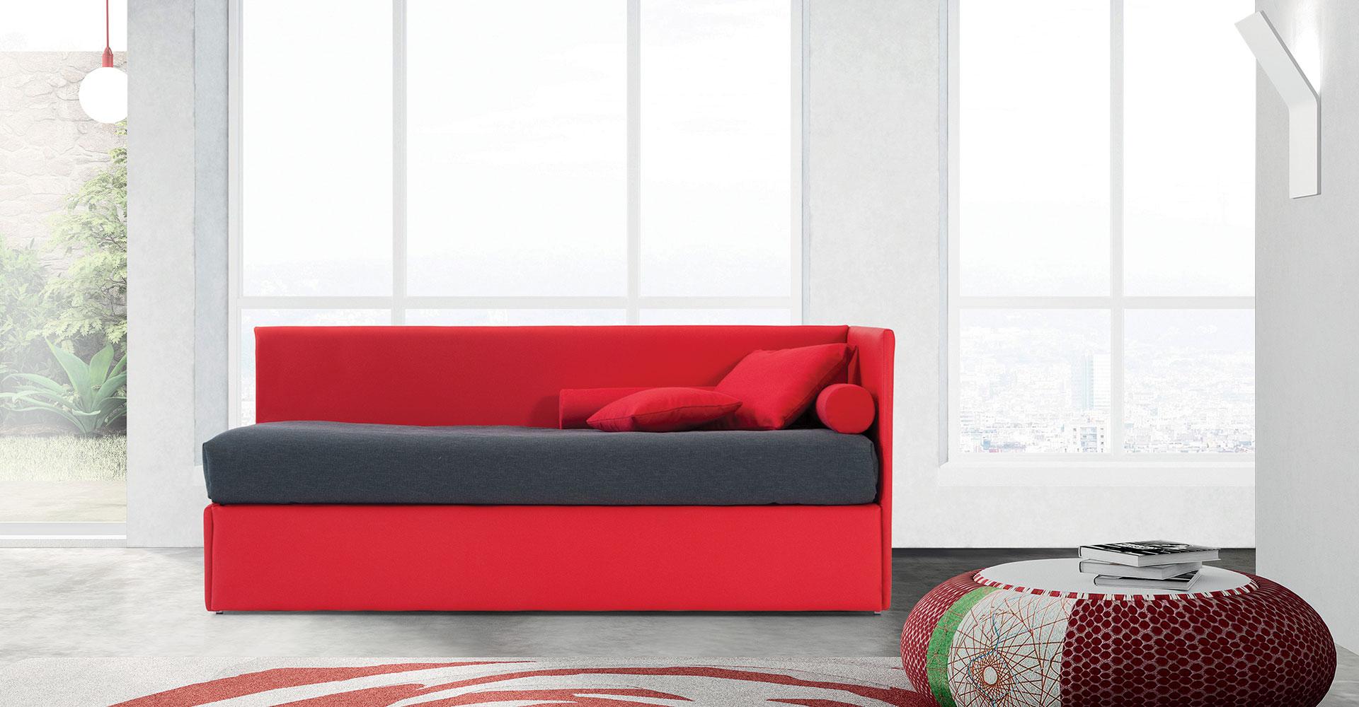 La casa del divano letto genova divani particolari for Divano yoko