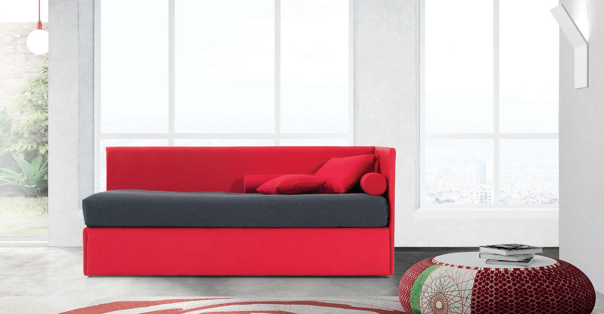 Letto singolo 01 fabbrica divani didivani salerno 082853891 - Foto divani letto ...