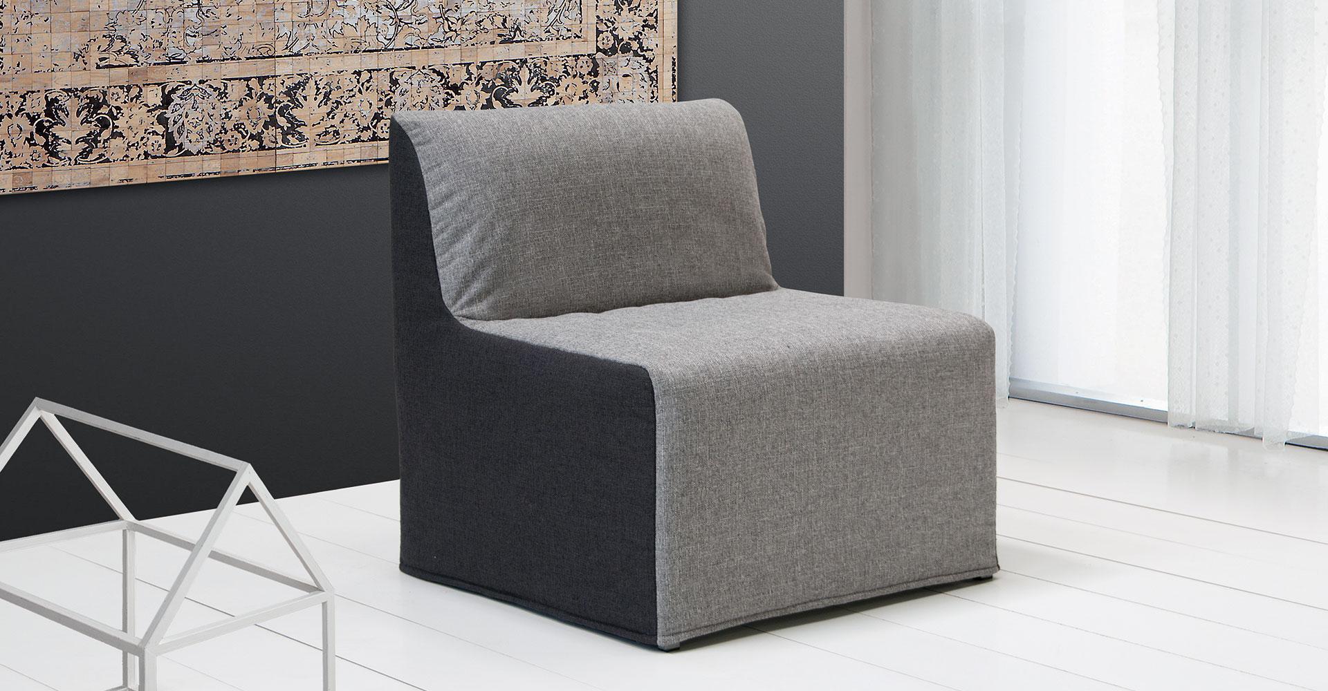 Pouf poltrona fabbrica divani didivani salerno 082853891 - Poltrona che diventa letto ...